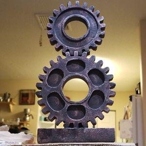 Steampunk or Industrial Gear decor